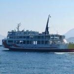 本州、山口県柳井市と四国、愛媛県松山市を2時間30分の船旅で繋ぐ「オレンジフェリー」、本州側の「柳井港ポートビル」を訪ねてみました。