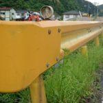 私の故郷山口県にオレンジ色のガードレールがあるって知ってました。